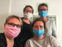 Unser Corona Team in der Krankengymnastik Himstedt Praxis
